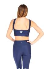 Star Light Star Bright Bra - Navy - Back