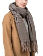 Long Scarf with Tassels - 5