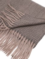 Long Scarf with Tassels - 3