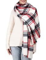 Scarf with Fringes - 3