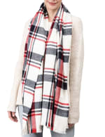 Scarf with Fringes - 4