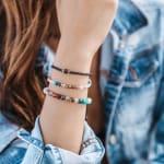 Master Healer 4mm Healing Bracelet - Multi Color - Detail