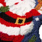 Santa Hooked Stocking - 4