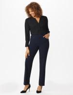 Roz & Ali Secret Agent Tummy Control Pants Cateye Rivets - Average Length - 23