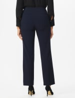 Roz & Ali Secret Agent Tummy Control Pants Cateye Rivets - Average Length - navy - Back