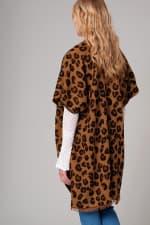 Leopard Print Cozy Kimono - 2