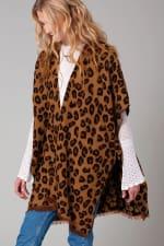 Leopard Print Cozy Kimono - 3