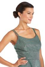 Morgan & Co. Shimmer Skater Dress - 3