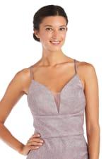 Morgan & Co. Short Shimmer Dress - 3