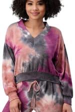 Tie Dye Cozy Knit Loungewear Set - 9