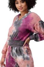 Tie Dye Cozy Knit Loungewear Set - 8