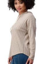 Hooded Sweater Top - 6