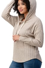 Hooded Sweater Top - 3