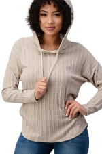 Hooded Sweater Top - 7