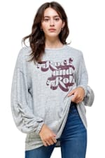 Cozy Knit Loose Fit Top - 6