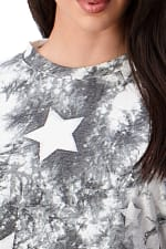 Tie Dye Star Sweatshirts & Jogger Set - 8