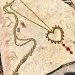 Gold Plated - Honest Heart Necklace - 3