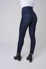 Westport Signature High Rise Pull On Jegging Jean - Rinse - Back