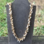Pearl Chain Necklace - 1
