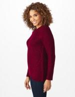 Westport Lurex Sharkbite Pullover Sweater - 9