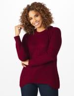 Westport Lurex Sharkbite Pullover Sweater - 12