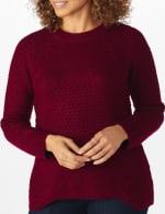Westport Lurex Sharkbite Pullover Sweater - 10