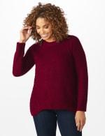 Westport Lurex Sharkbite Pullover Sweater - 7