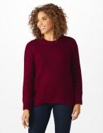 Westport Lurex Sharkbite Pullover Sweater - 11