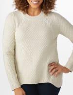 Lurex Sharkbite Pullover Sweater - 4