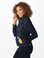Westport Stretch Denim Button Front Jean Jacket - 4