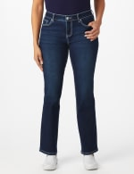 Westport Signature 5 Pocket Bootcut Jean with Starburst Pattern Bling Back Pockets - 5