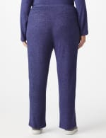 DB Sunday Hacci Drawstring Knit Pant - Plus - Navy - Back