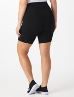 Tummy Control Bike Short - Plus - Black - Back