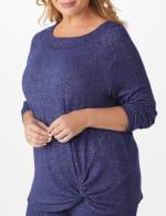 DB Sunday Marilyn Neck Knit Top - Plus - 5