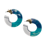 Eva Blue Earrings - 1