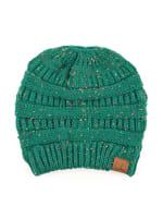 CC® Bun Confetti Beanie - Sea Green - Back