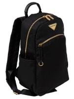 Ellen Tracy Nylon Zippered Backpack - 1