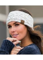 CC® Confetti Head Wrap - Ivory - Back