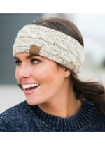 CC® Confetti Head Wrap - Oatmeal - Back