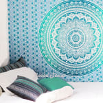 Sky Blue Twin Tapestry - 3