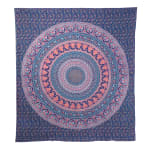 Navy Blue Queen Tapestry - 3