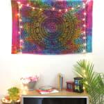 Tie Dye Mandala Poster - 1