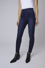 Westport Signature High Rise Pull On Jegging Jean - 5