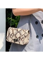 Alice Clutch - Tan - Back