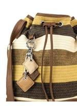 Lola Pull Bag - Mustard - Back