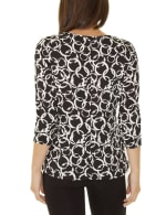 Elbow Sleeve Pullover With Drawstring Detail - 2