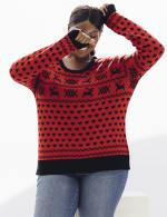 Westport Fair Isle Pullover Sweater - Plus - 4