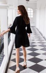 Melrose Dress - Black - Back