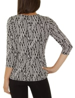 Elbow Sleeve With Drawstring Pullover- Petite - 5