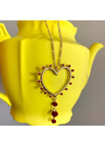 Gold Plated - Honest Heart Necklace - 2